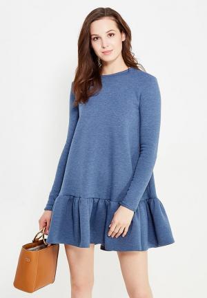 Платье Èssmy. Цвет: голубой