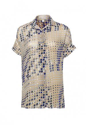 Блуза Colletto Bianco. Цвет: бежевый