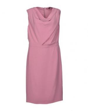 Платье до колена GUCCI. Цвет: розовый