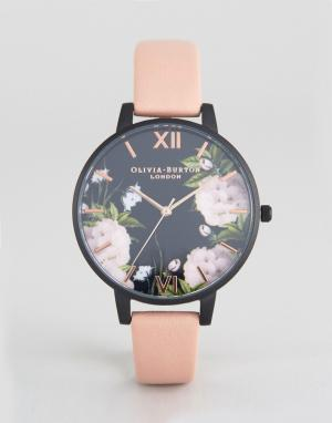 Olivia Burton Часы цвета розового золота с пыльно-розовым ремешком Aft. Цвет: розовый