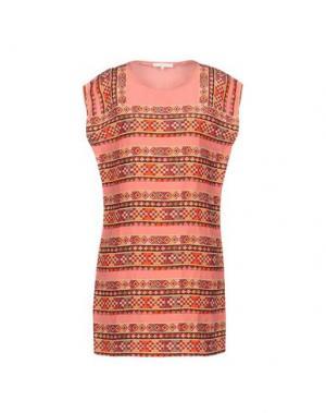 Короткое платье MAJE. Цвет: розовый