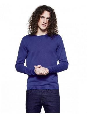 Свитер United Colors of Benetton. Цвет: серо-голубой, темно-фиолетовый