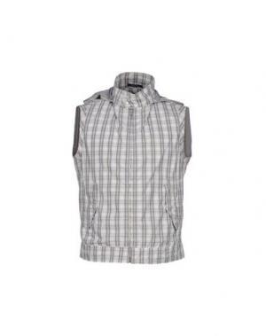 Куртка CALVARESI. Цвет: светло-серый