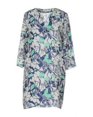Короткое платье BELLA JONES. Цвет: белый