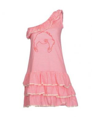 Короткое платье DOLORES PROMESAS HELL. Цвет: фуксия
