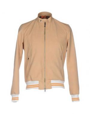 Куртка ROBERTO PEPE. Цвет: песочный
