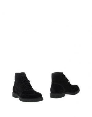 Полусапоги и высокие ботинки ALEXANDER WANG. Цвет: черный