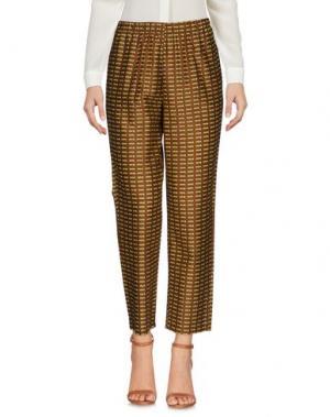 Повседневные брюки LAURA URBINATI. Цвет: коричневый