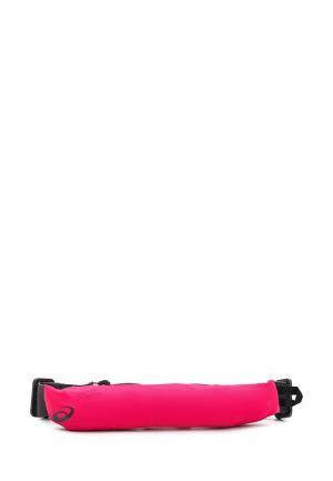 Пояс для бега ASICS. Цвет: розовый