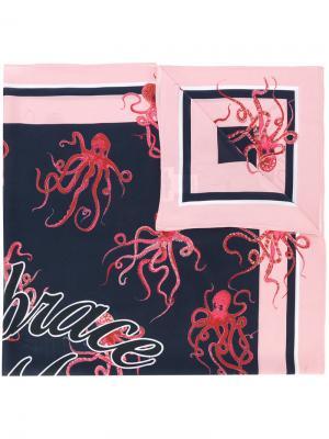 Шарф с вышивкой Essentiel Antwerp. Цвет: многоцветный