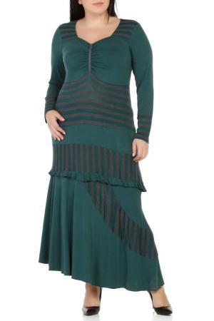 Платье Milanesse. Цвет: green