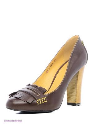 Туфли Lisette. Цвет: коричневый