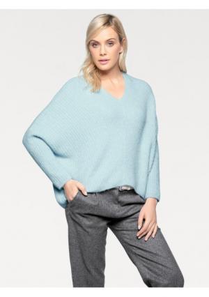 Пуловер B.C. BEST CONNECTIONS by Heine. Цвет: нежно-зеленый, ягодный
