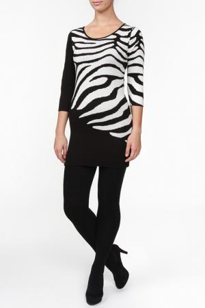 Блузка Frank Lyman Design. Цвет: черно-белый