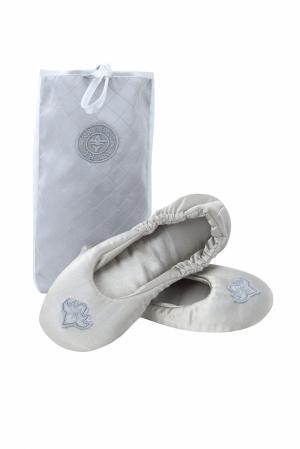 Серебряные балетки Argent-ЗНАК. Цвет: серебряный