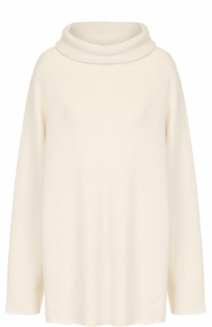 Кашемировый свитер свободного кроя The Row. Цвет: бежевый