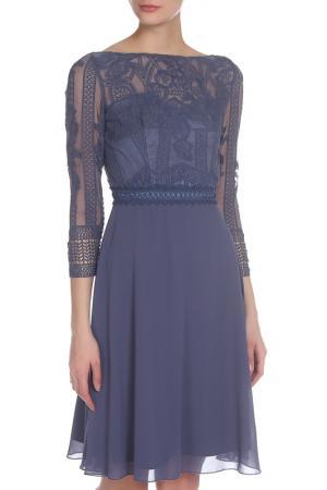 Платье CHI LONDON. Цвет: blue