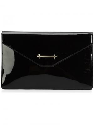 Клатч-конверт M2malletier. Цвет: чёрный