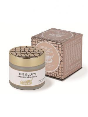 Комплексный крем с маслом крокодила эффектом осветления и лифтинга, 70 мл The Elluyi. Цвет: золотистый