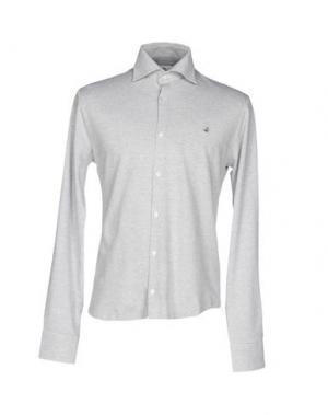 Pубашка BROOKSFIELD. Цвет: светло-желтый