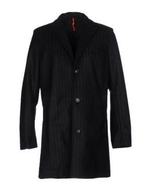 Пальто RRD. Цвет: грифельно-синий