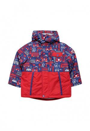 Куртка утепленная Chicco. Цвет: разноцветный