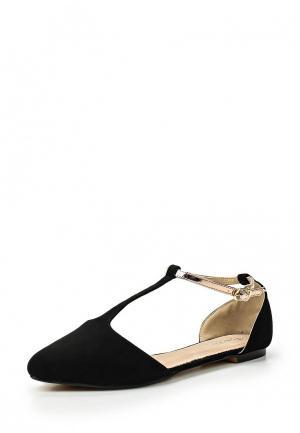 Туфли Tom & Eva. Цвет: черный