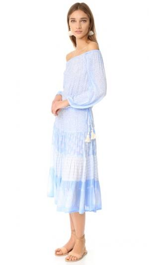 Платье Mercy coolchange. Цвет: голубой