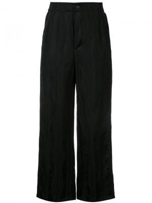 Расклешенные брюки Uma Wang. Цвет: чёрный
