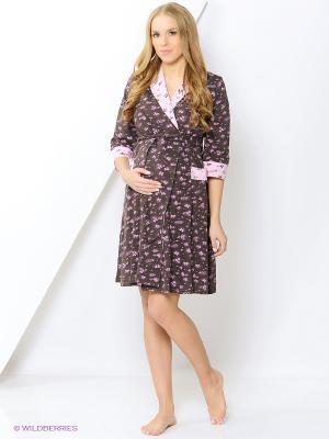 Комплект одежды EUROMAMA. Цвет: коричневый