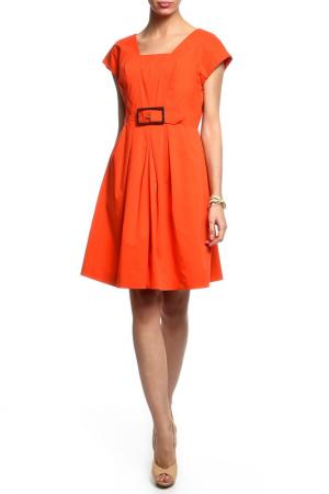 Платье CLASS ROBERTO CAVALLI. Цвет: коралловый