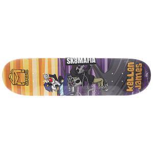 Дека для скейтборда  James Sk8rats Multi 32 x 8.0 (20.3 см) Sk8mafia. Цвет: мультиколор
