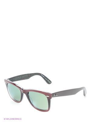 Солнцезащитные очки WAYFARER Ray Ban. Цвет: красный