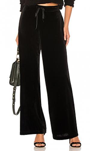 Широкие брюки monaco LA Made. Цвет: черный