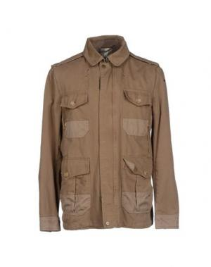 Куртка HISTORIC RESEARCH. Цвет: зеленый-милитари