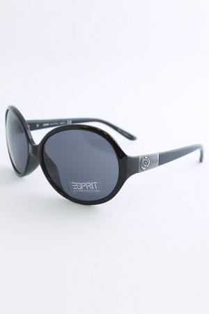 Очки солнцезащитные Esprit. Цвет: черный