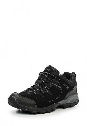 Ботинки трекинговые Regatta. Цвет: черный