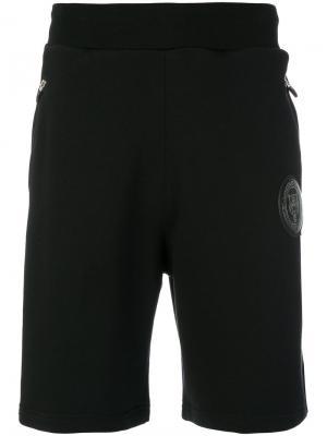 Спортивные шорты Ron Plein Sport. Цвет: чёрный