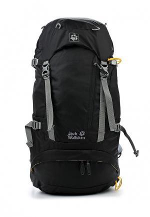 Рюкзак Jack Wolfskin. Цвет: черный