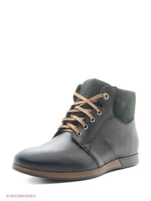 Ботинки Conhpol. Цвет: зеленый