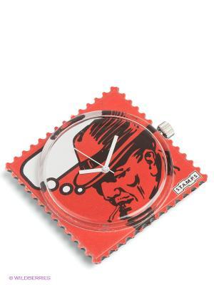 Часы S.T.A.M.P.S.. Цвет: красный, белый, черный