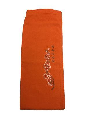 Юбка для сауны A and C Collection. Цвет: оранжевый