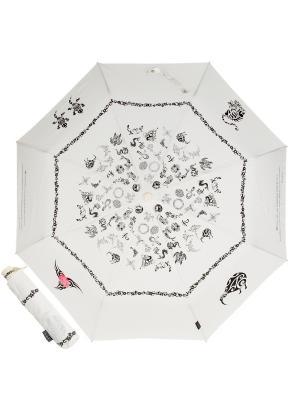 Зонт складной EMME M388-OC Tatoo Beige. Цвет: бежевый