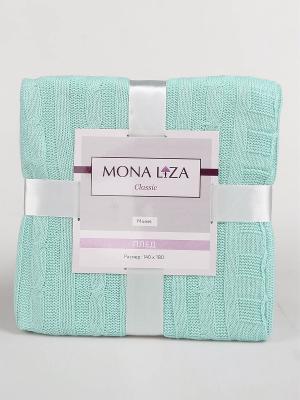 Плед Monet  Mona Liza Classic тиффани. Цвет: светло-зеленый