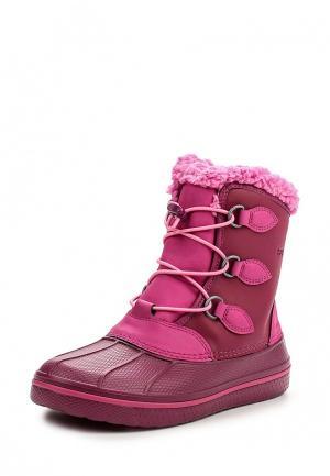 Ботинки Crocs. Цвет: розовый