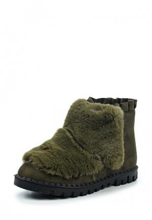 Ботинки Vivian Royal. Цвет: зеленый