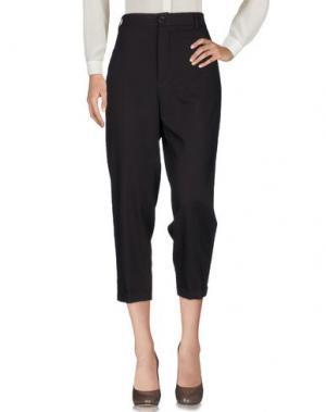 Повседневные брюки VIRNA DRÒ®. Цвет: баклажанный