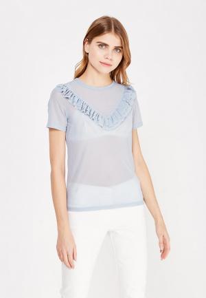Блуза Glamorous. Цвет: голубой