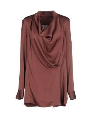 Блузка SLY010. Цвет: розовато-лиловый