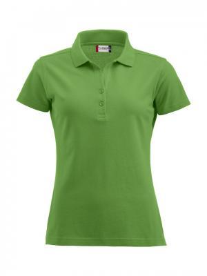 Clique Alba женская футболка-поло. Цвет: светло-зеленый